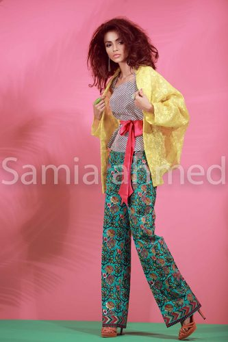Samia Ahmed Fancy Eid Collection 2016