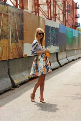 Summer Floral Striped Outfits For This Summer Season