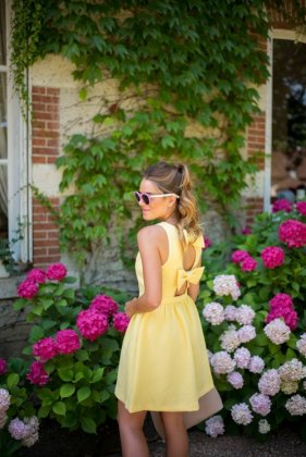 Summer Yellow Dress To Try This Season