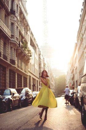 Summer Yellow Dress