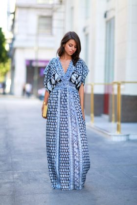 Cotton Maxi Dress Designs For Your Summer Styling
