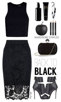 Night Polyvore Dresses