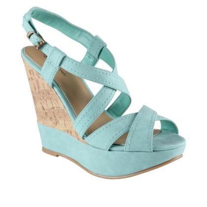 Wedge Heels Summer Formal Footwear Trend