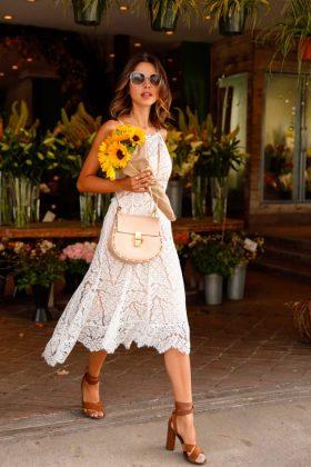 White Lace Summer Dress Women's Favorite This Season