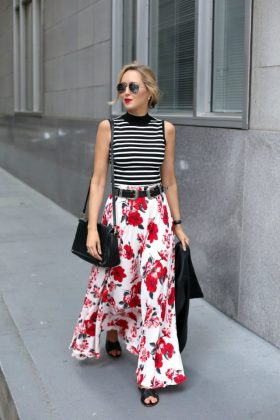 Charming Summer Maxi Dress Combo To Copy This Season