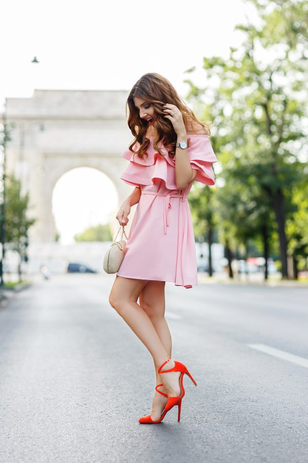 Pink Autumn Outfits