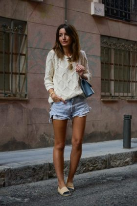 Shorts Early Fall Outfits Trend You Will Love To Wear