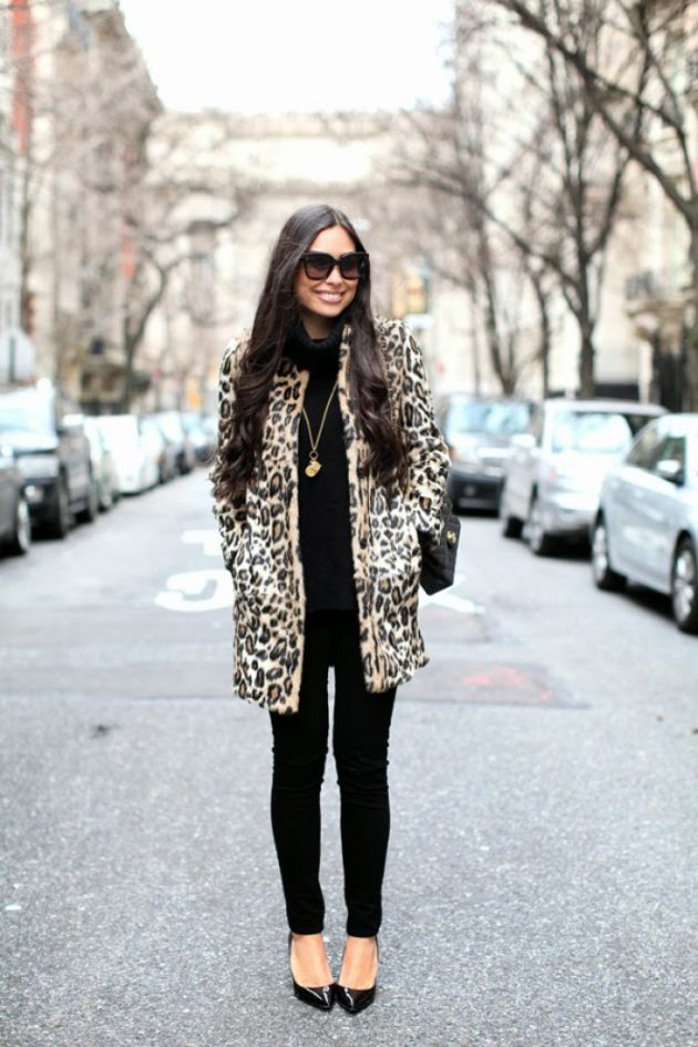 Winter Leopard Coats To Try Out This Season 2016-17