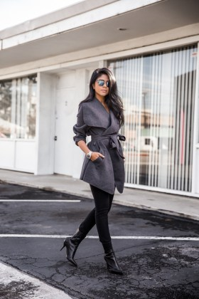 Winter Wrap Coat Designs Women Wear 2017