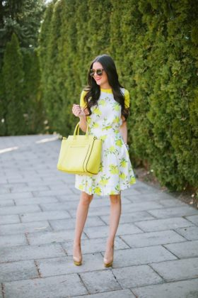 Stylish Colorful Spring Dresses That You Can Wear In Office
