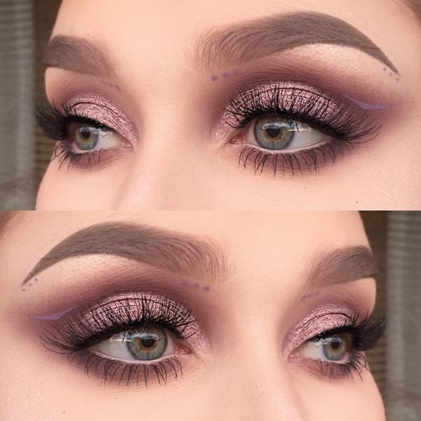 what colour is taupe eyeshadow