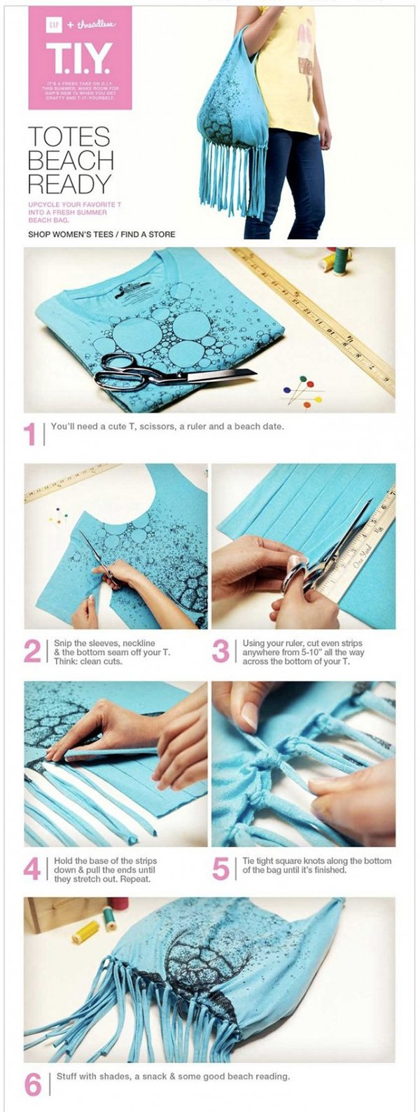 Creative DIY Bag Ideas From Old Clothes