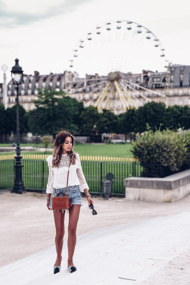 White Outfits Summer Season Trend For Woman