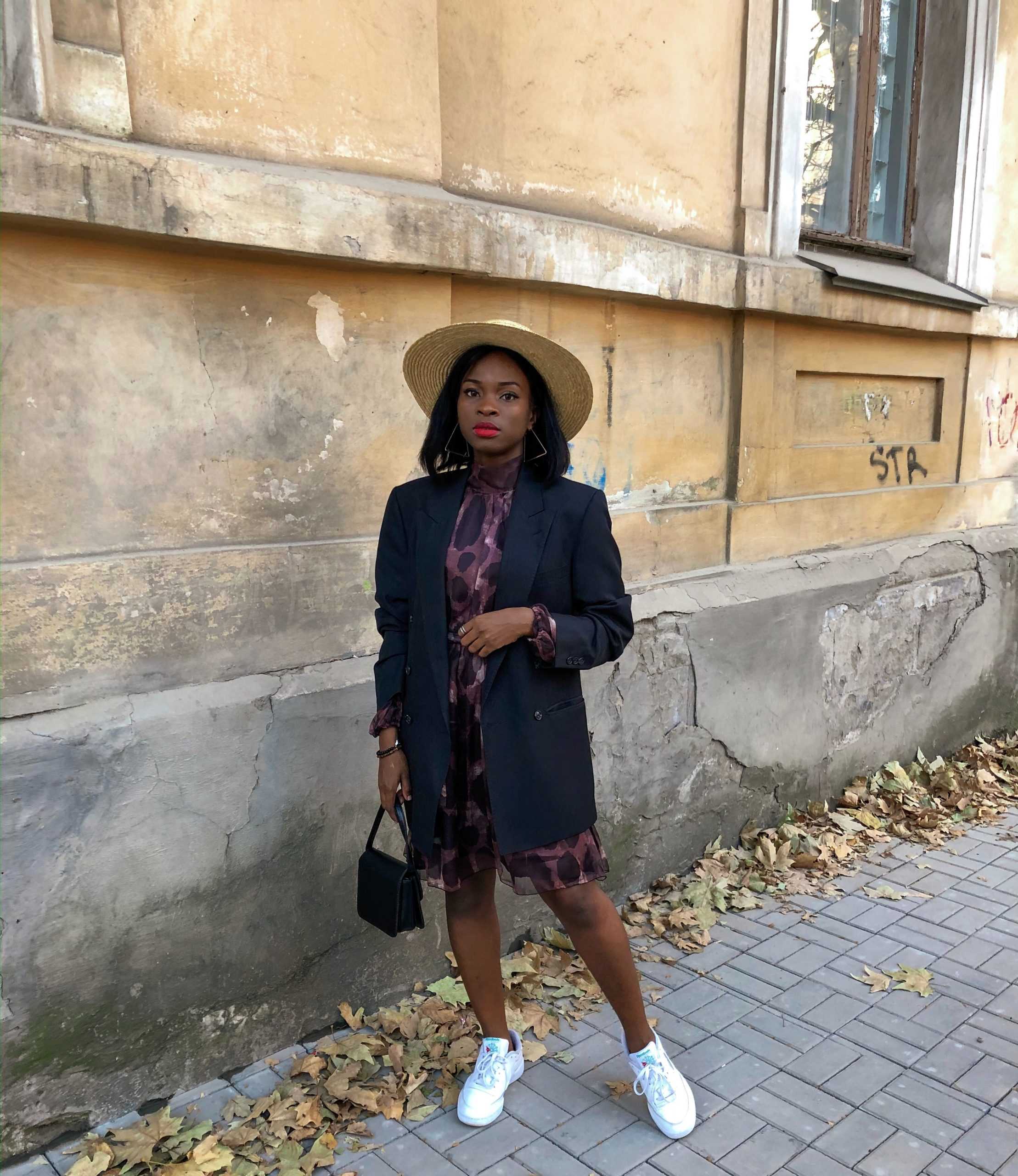 Wear A Dress With Sneakers | StyleVitae