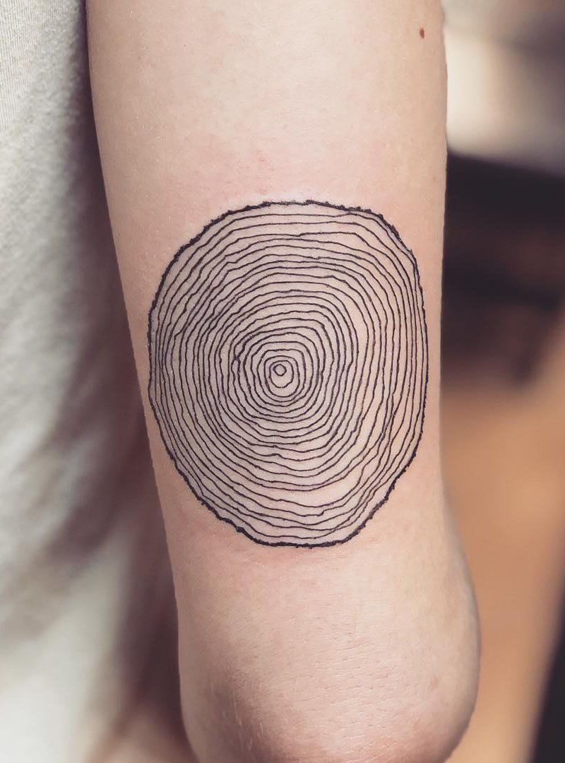 Tree Rings Tattoo : rings, tattoo, Pretty, Tattoos, Beautiful, Forever, Style