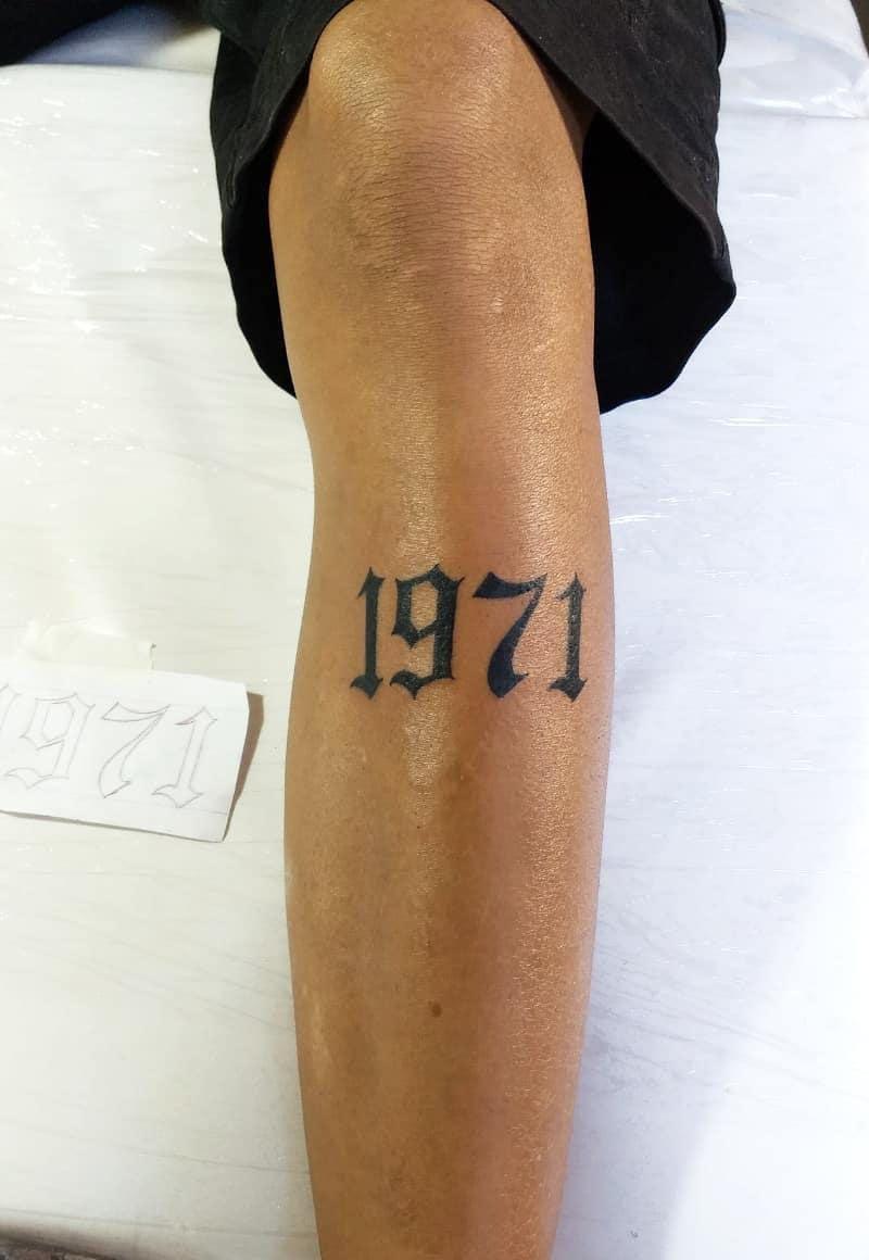 Number 3 Tattoo : number, tattoo, Pretty, Number, Tattoos, Style