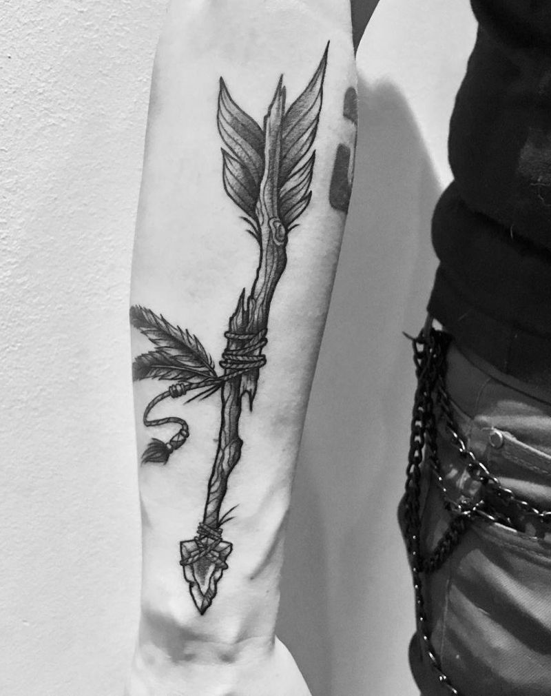 3 Arrow Tattoo : arrow, tattoo, Pretty, Arrow, Tattoos, Improve, Temperament, Style
