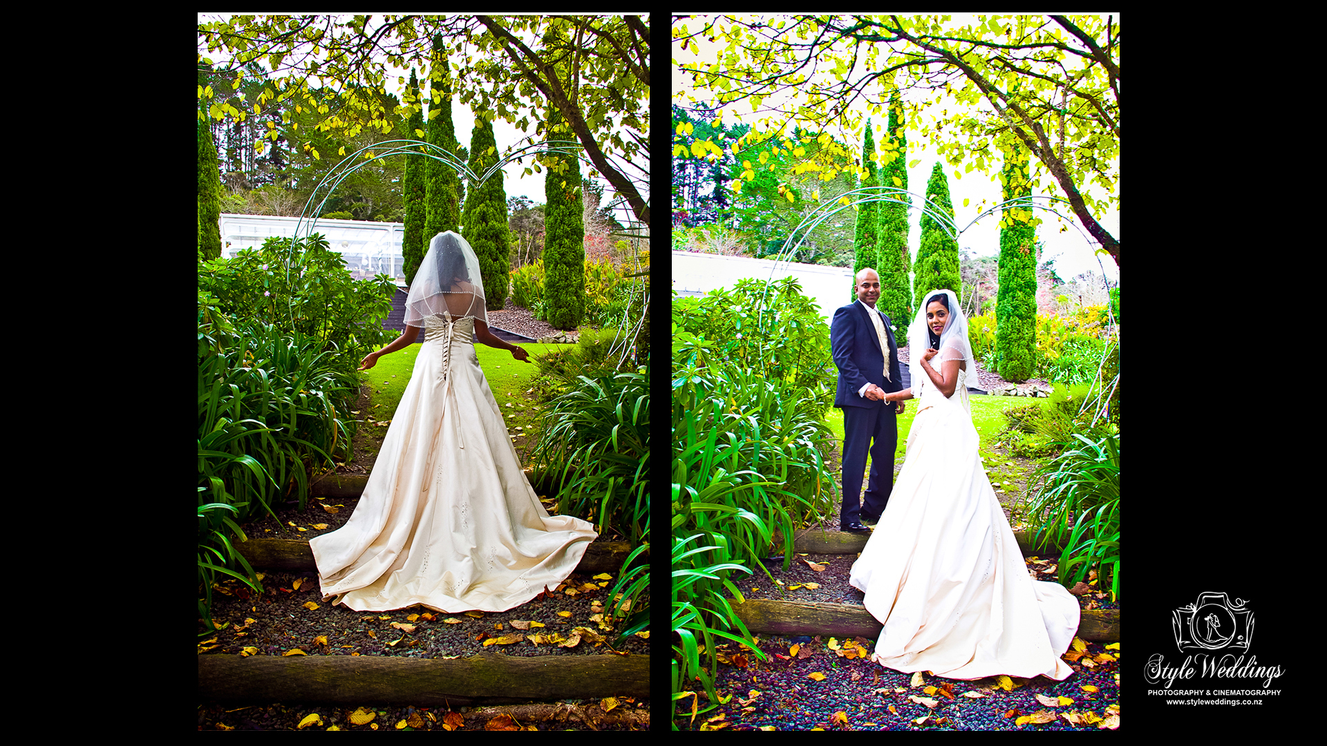 Bridal photoshoot by styleweddings.co.nz at Bridgewater country Estate Auckland
