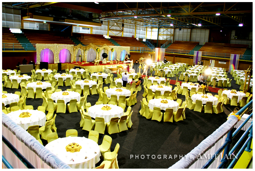 Indian Wedding venue - ASB stadium Kohimarama Auckland