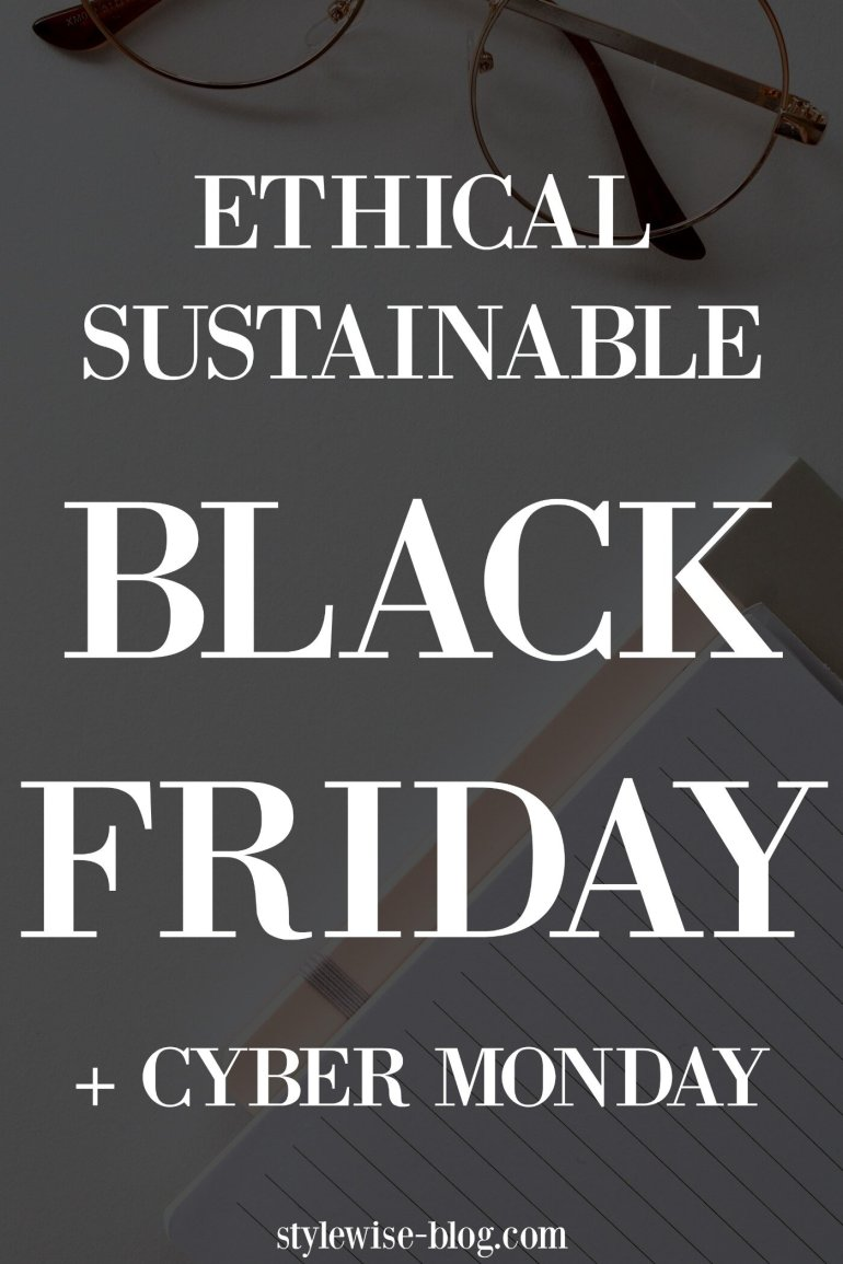 Ethical eco-friendly Black Friday