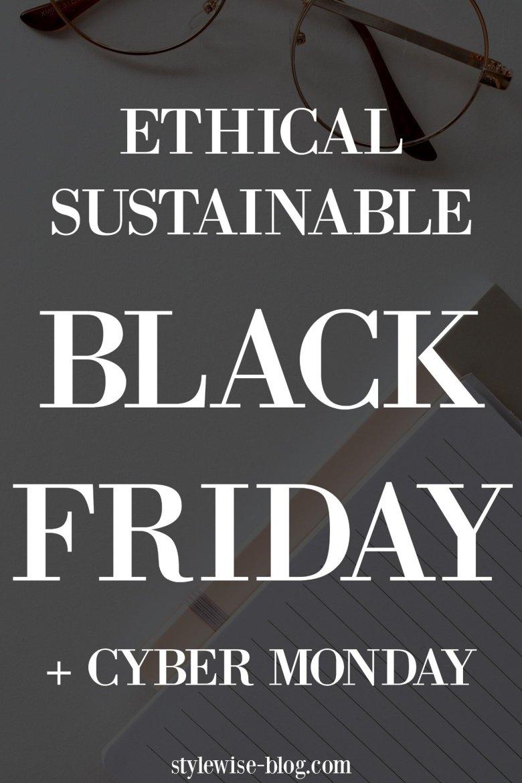 Ethical eco-friendly Black Friday