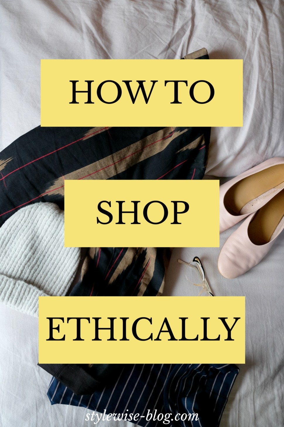 how to shop sustainably and ethically