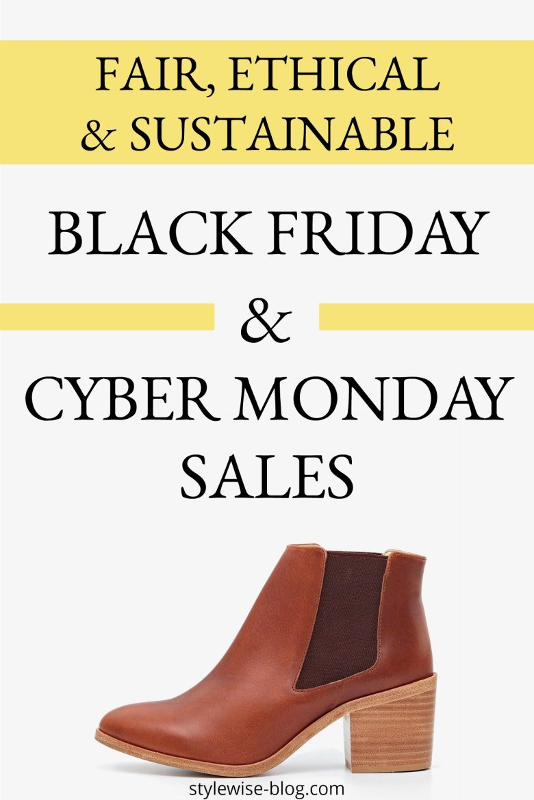 Pin it: Ethical and Sustainable Black Friday and Cyber Monday