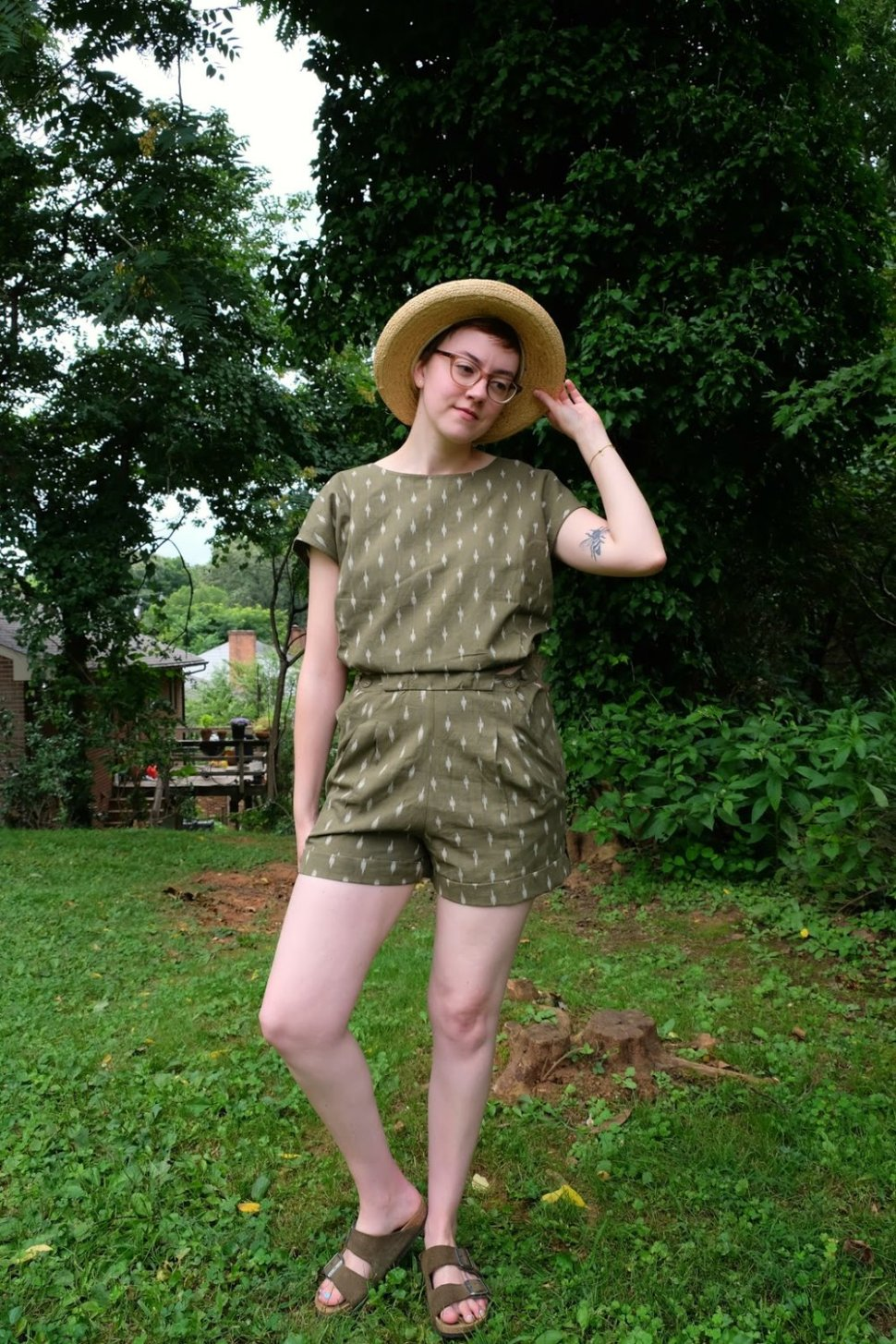 MATTER Prints all day romper review and cultural appropriation stylewise-blog.com