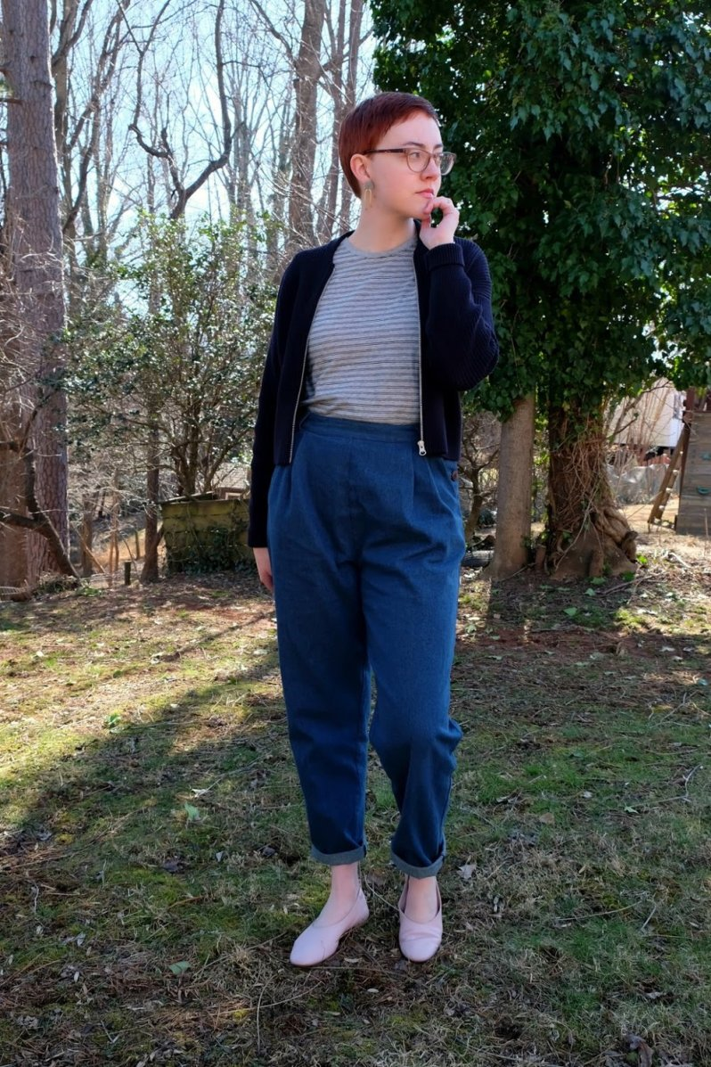 ethical outfit with everlane day glove and lowie stylewise-blog.com