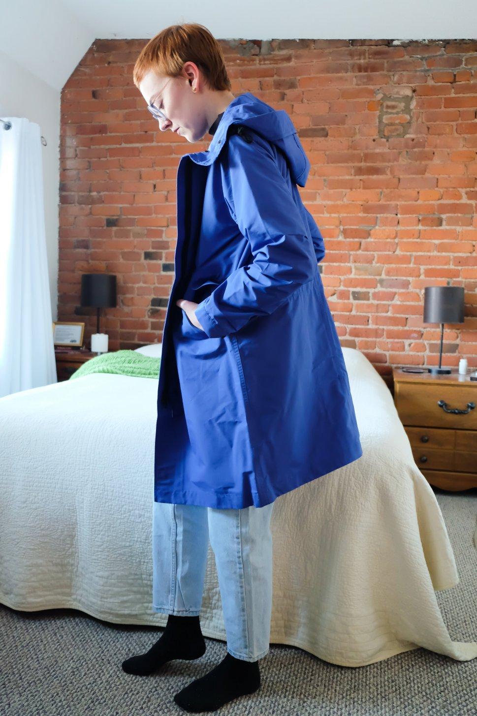everlane renew anorak spring rain jacket