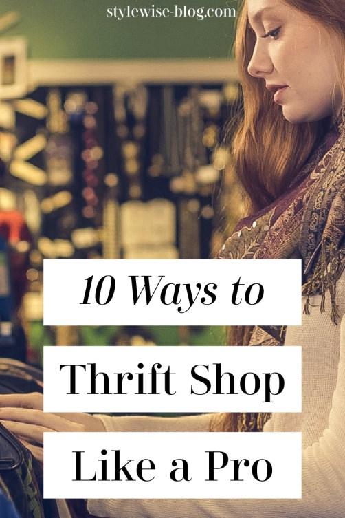 10 thrift shopping tips