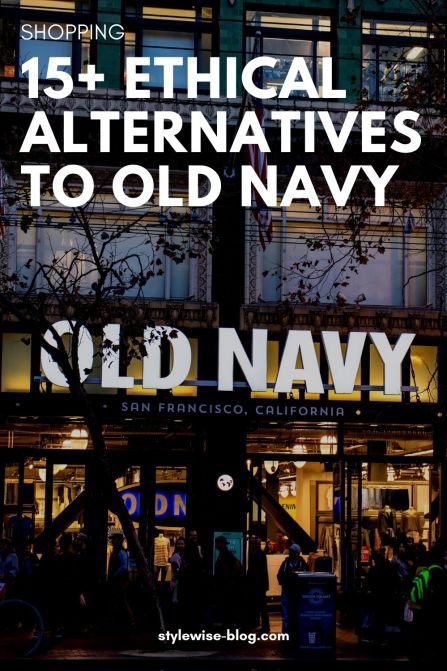 Ethical Alternatives to Old Navy - Pinterest Pin