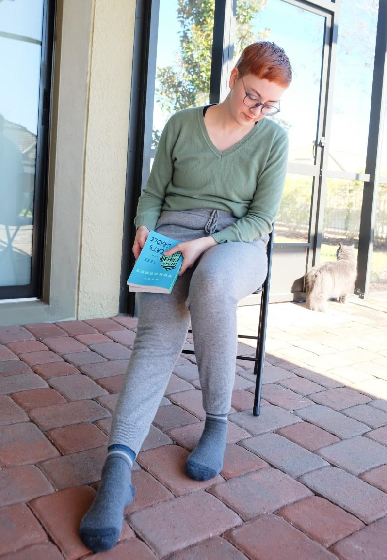 quince cashmere sweatpants review