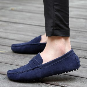 Moccasins without socks
