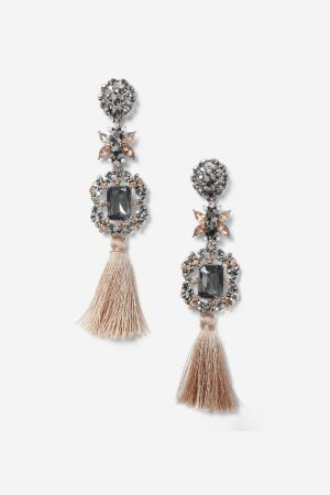 Topshop Tassel Drop Earrings