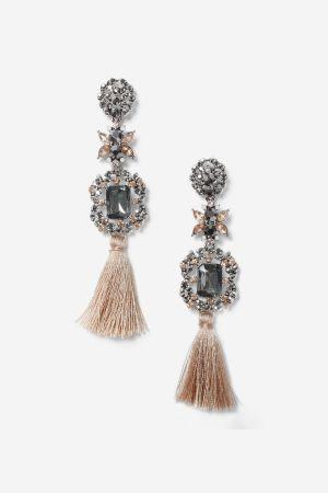 Topshop Tassel Drop Earrings
