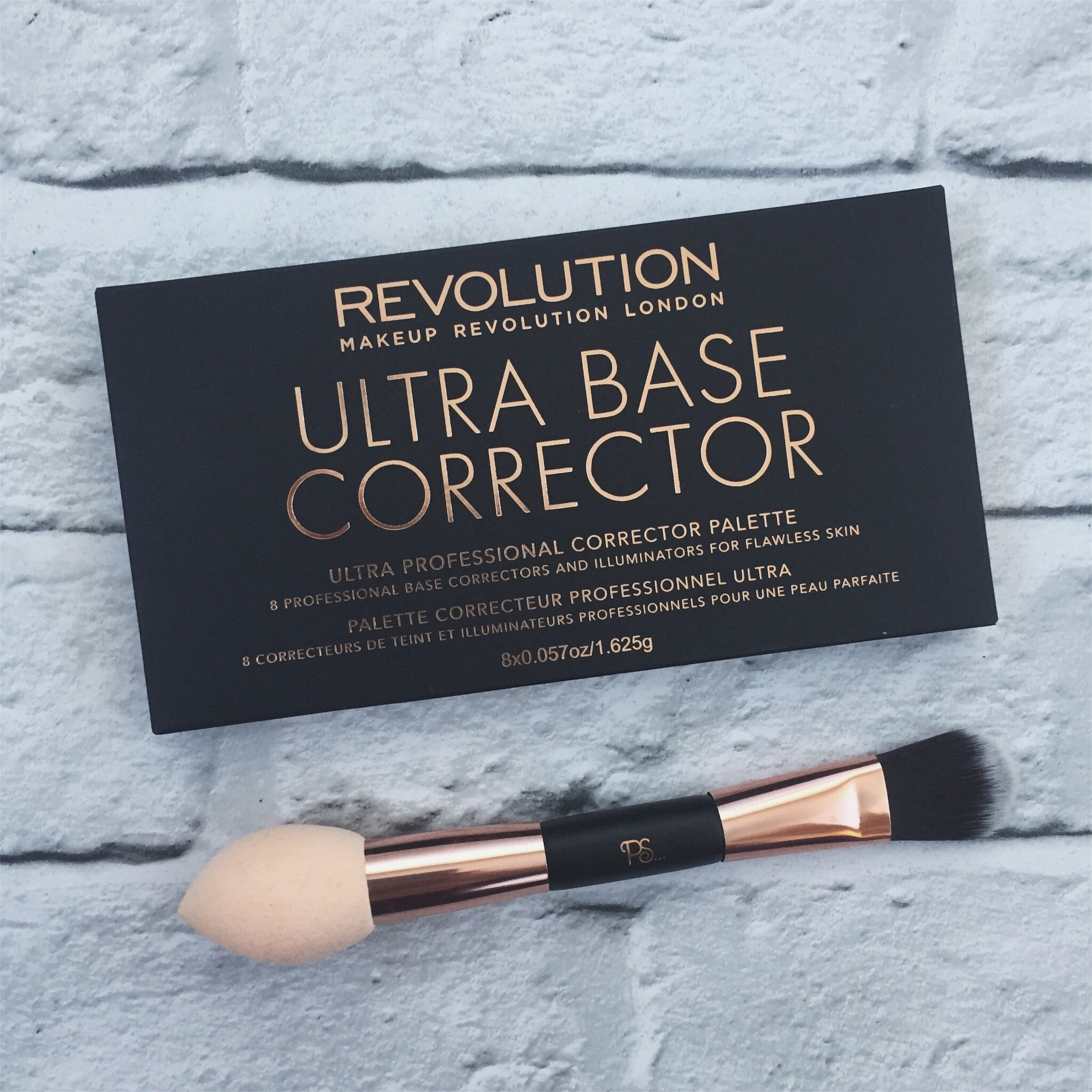Make Up Revolution Ultra Base Corrector Palette
