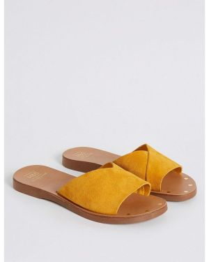 M&S Collection Suede Mule Sandals