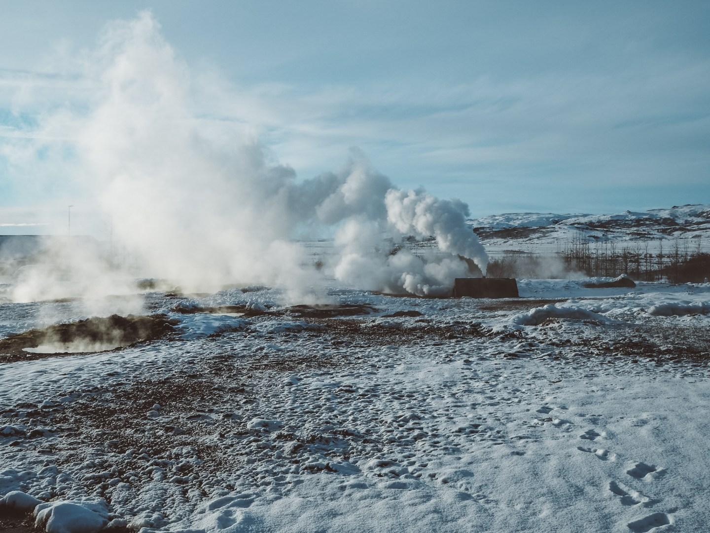 geysir, geyser, iceland