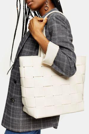Weave Stone Tote Bag