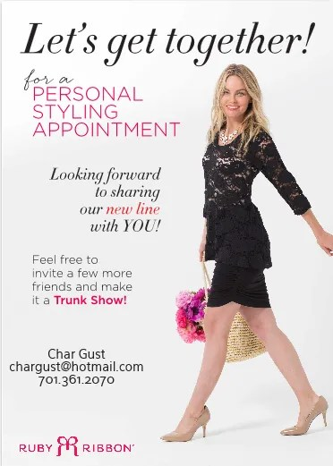 personal styling appt spring 2015