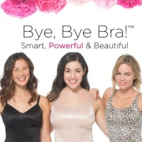 Top Ten Reasons to  Ditch Your Bra with a Ruby Ribbon camisole