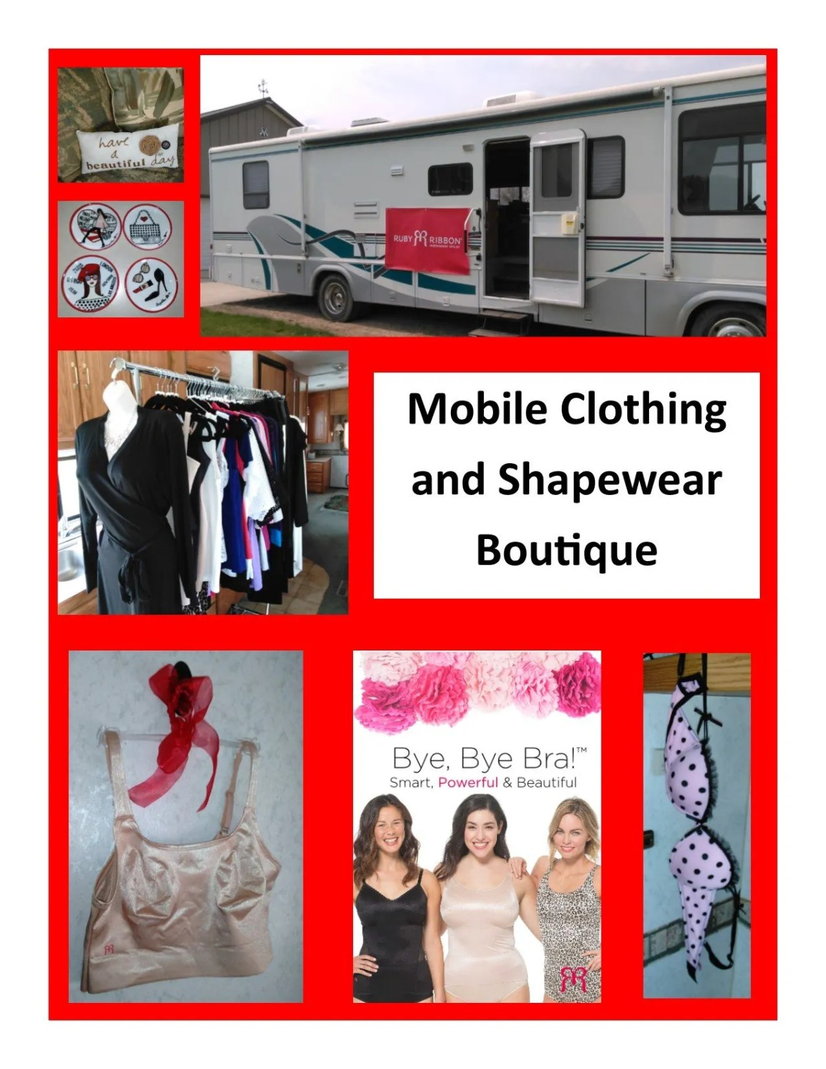 mobile boutique photo collage 1