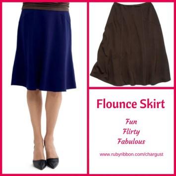 Flounce Skirt montage