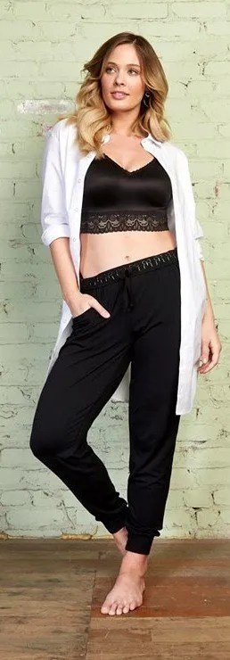 jog pants with demiette photo cropped