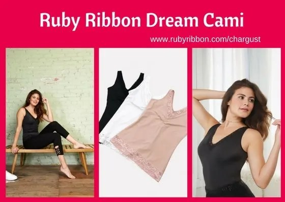 Ruby Ribbon Dream Cami