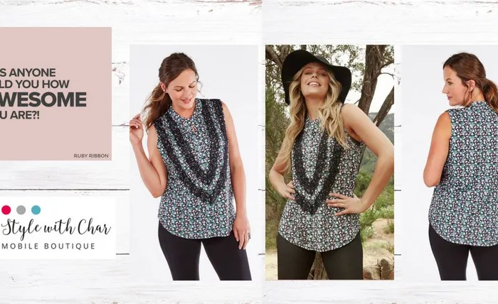 Wildflower Top will be a hit for Fall