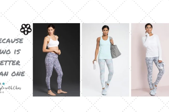 Reversible Leggings – because two is better than one!