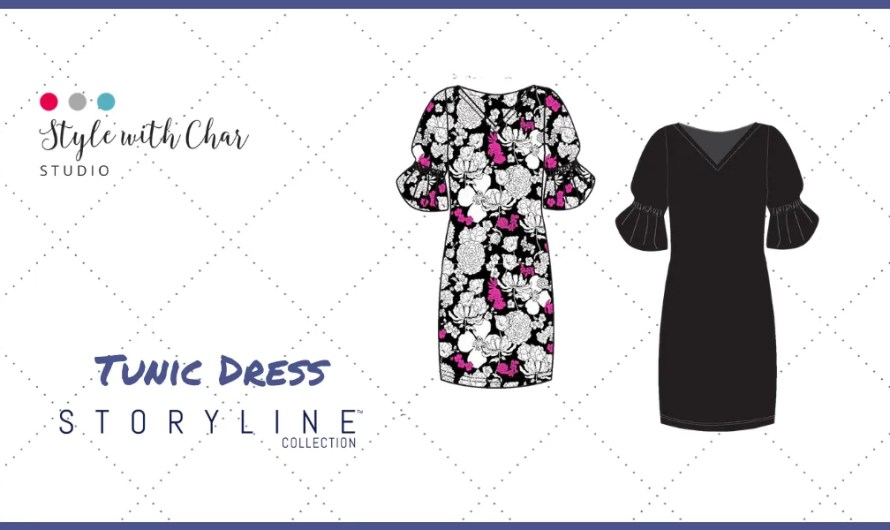 New Storyline Collection Tunic Dress launches today!