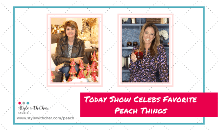Today Show Celebrities Will Highlight their Favorite Peach Things